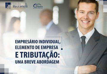 Empresário Individual, Elemento de Empresa e Tributação: Uma breve abordagem