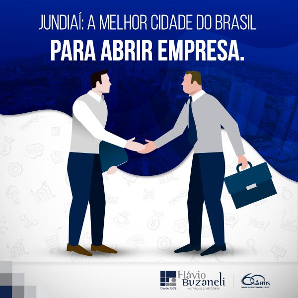 JUNDIAÍ - A melhor cidade do Brasil para abrir empresa.